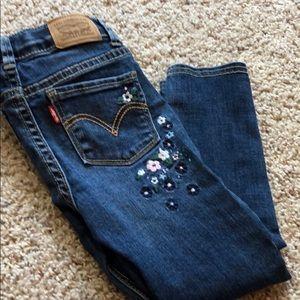 Levi's toddler super skinny jean